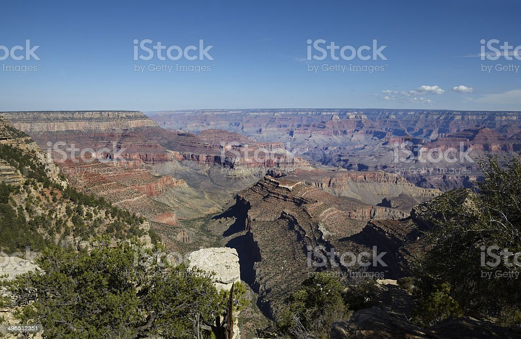 Grand Canyon South Rim : Grand View Point royalty-free stock photo