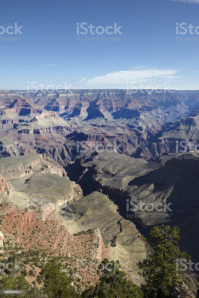 Grand Canyon South Rim : Mather Point royalty-free stock photo