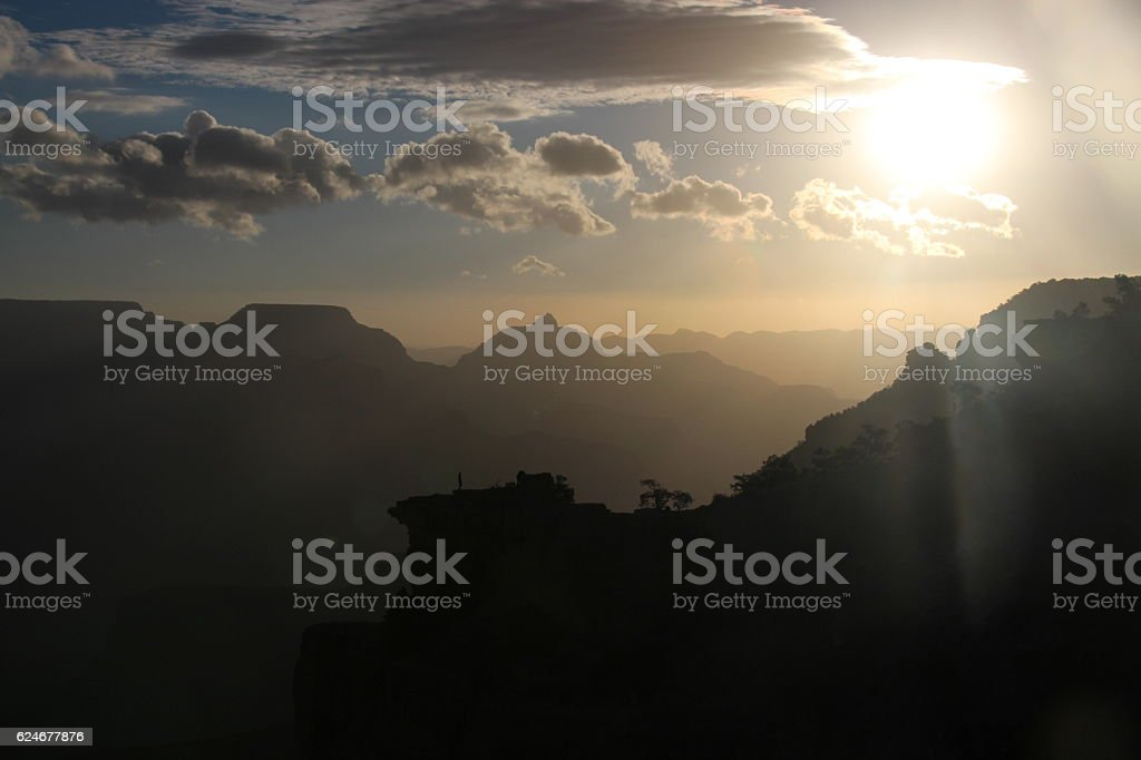 Grand Canyon Sunrise stock photo