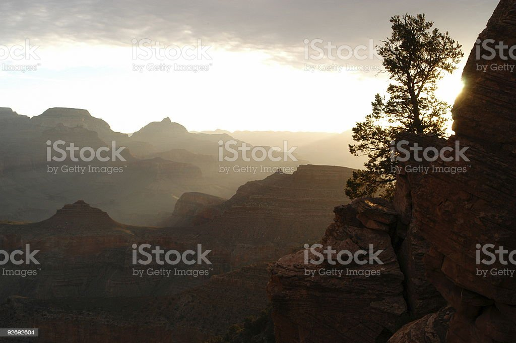 Grand Canyon Sunrise royalty-free stock photo