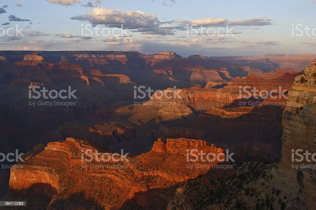 Grand Canyon Sunset royalty-free stock photo