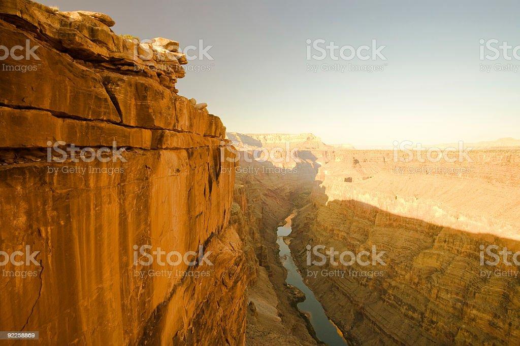 Grand Canyon - Toroweap Point stock photo
