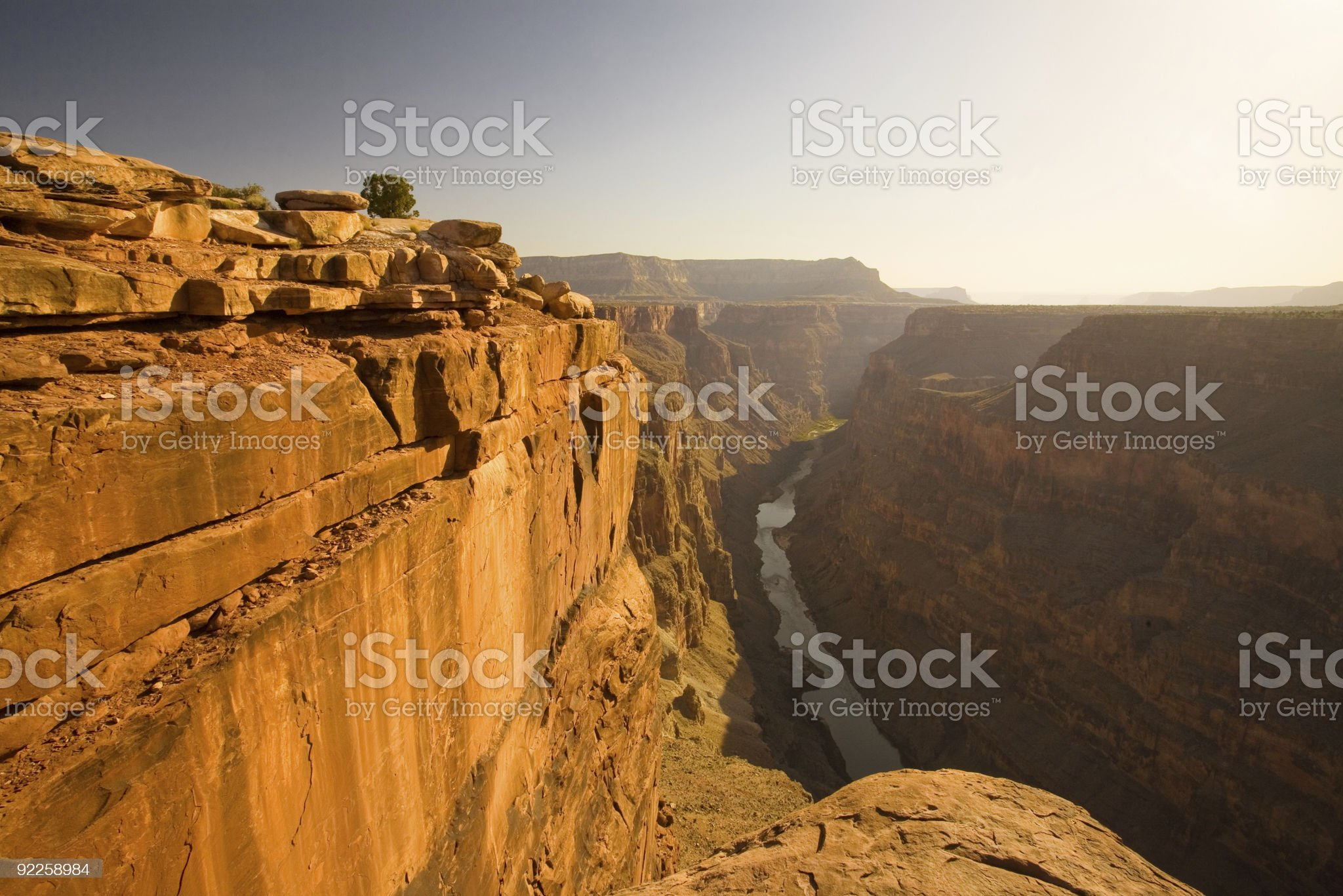 Grand Canyon - Toroweap Point royalty-free stock photo