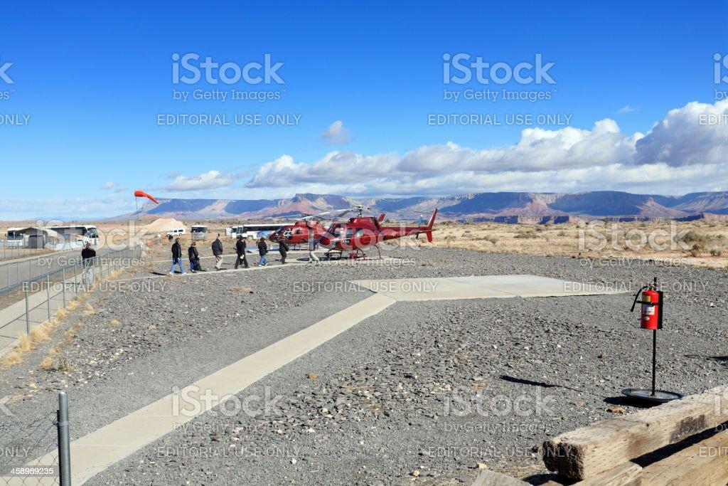 Grand Canyon tour stock photo