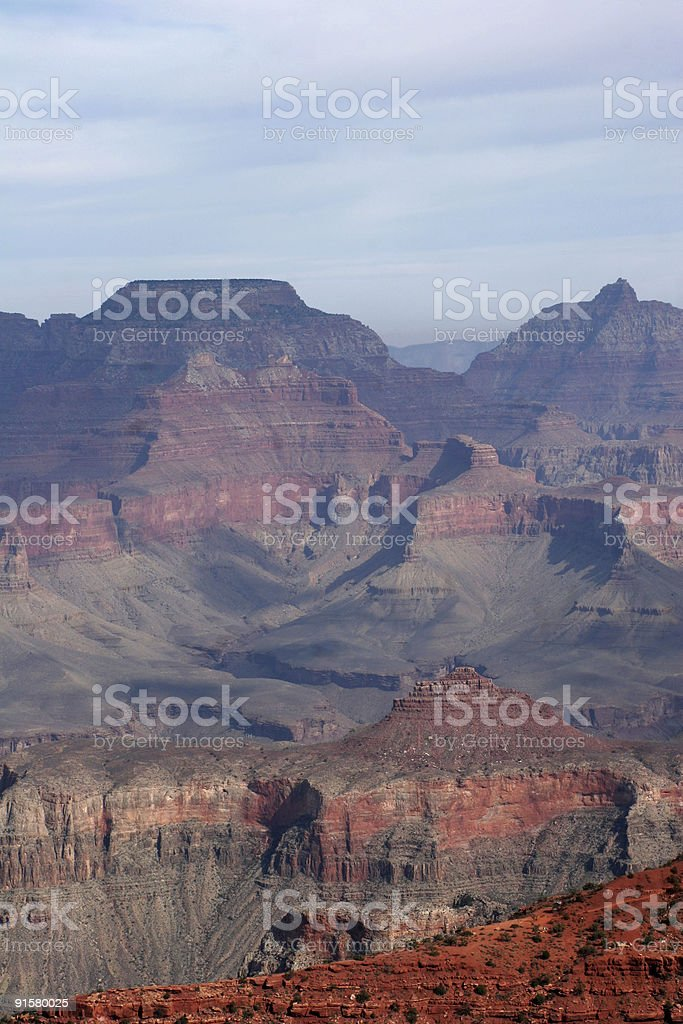 Grand Canyon View two stock photo
