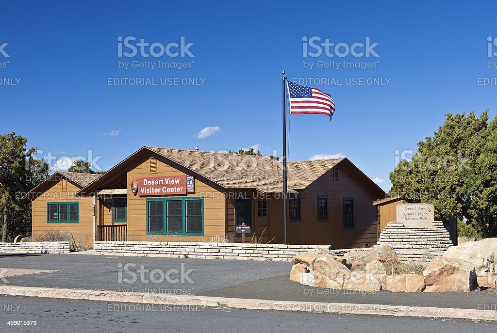 Grand Canyon Visitor Center In Arizona, USA stock photo