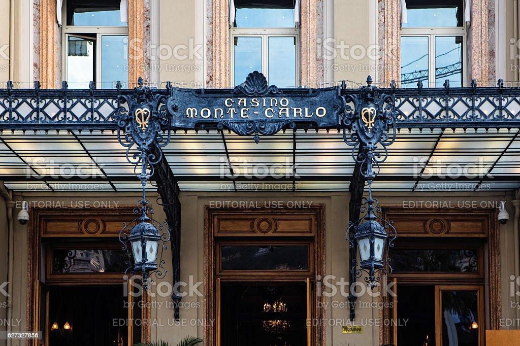 Grand Casino in Monte Carlo, Monaco stock photo