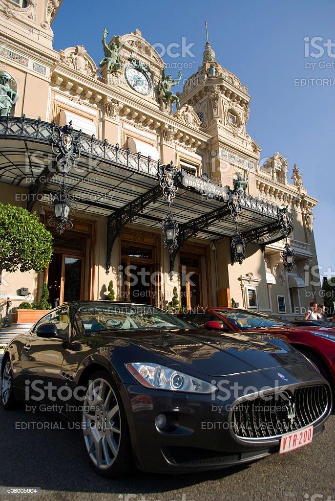 Grand Casino in Monte Carlo stock photo