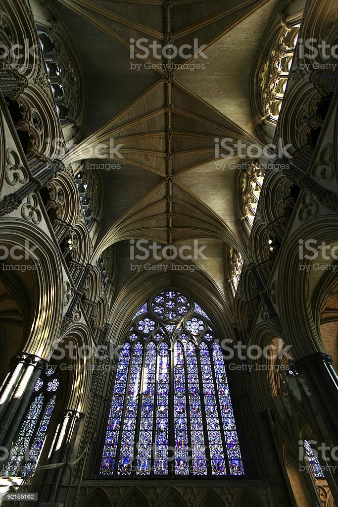 Grand cathedral royalty-free stock photo