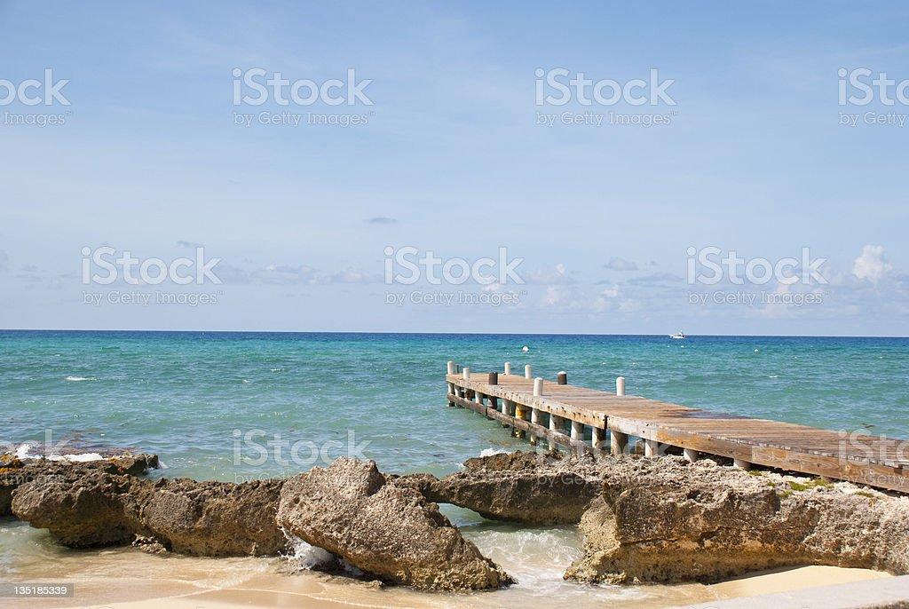Grand Cayman Island stock photo