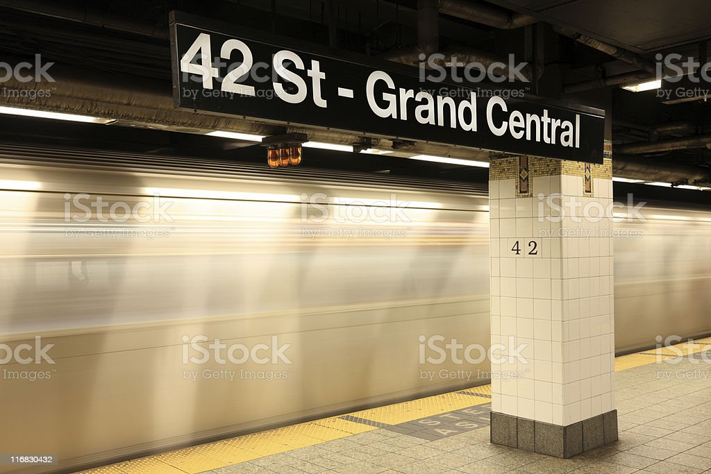 Grand Central, NYC royalty-free stock photo