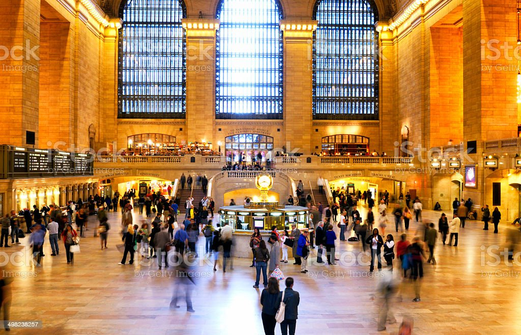 NYC, Grand Central stock photo
