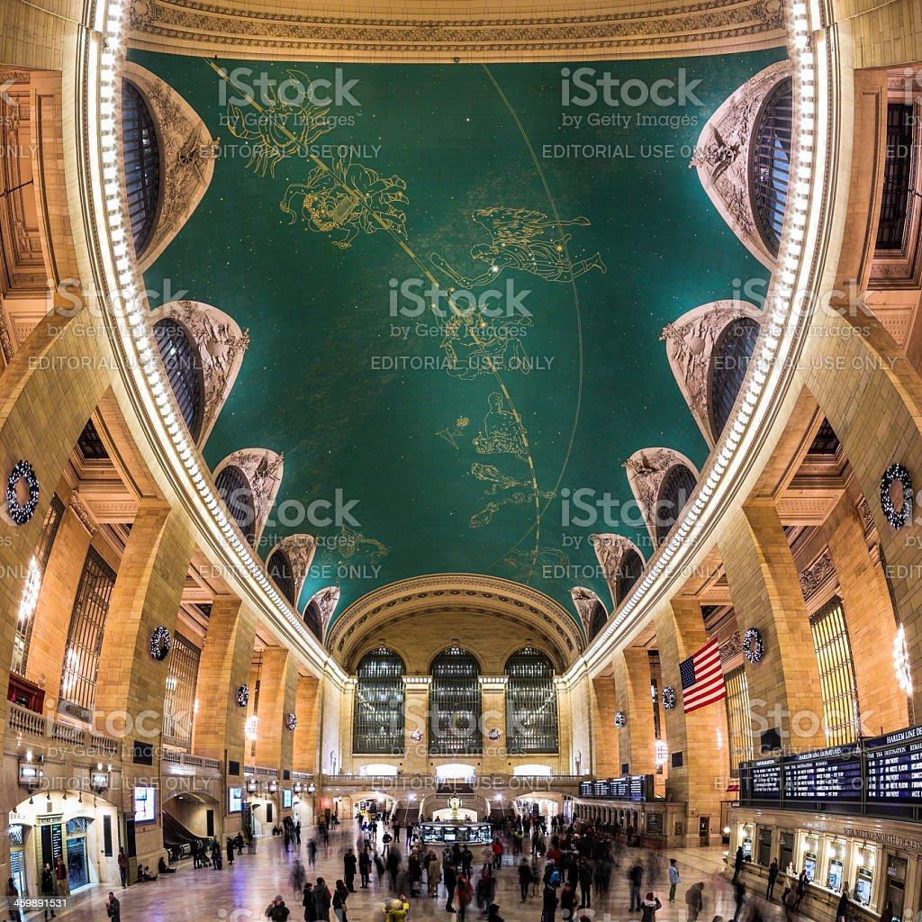 Grand Central Sky stock photo