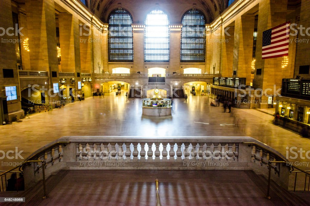 Grand Central Station Concourse stock photo