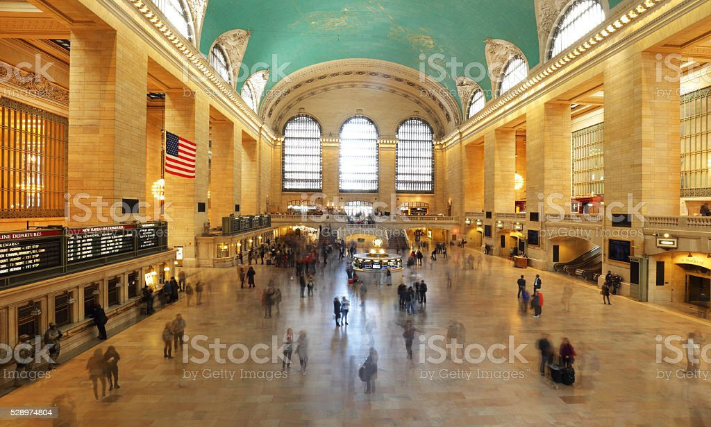 Grand Central Station in New York City stock photo