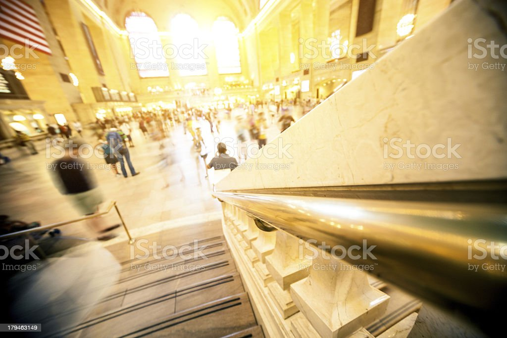 Grand Central Station in New York royalty-free stock photo