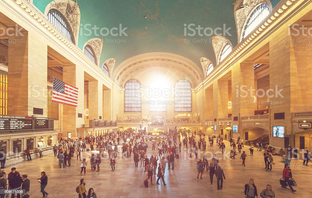 Grand Central Station in New York stock photo