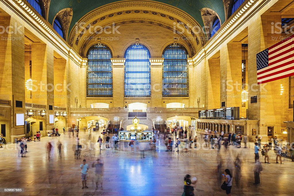 Grand Central Station in Ney York stock photo