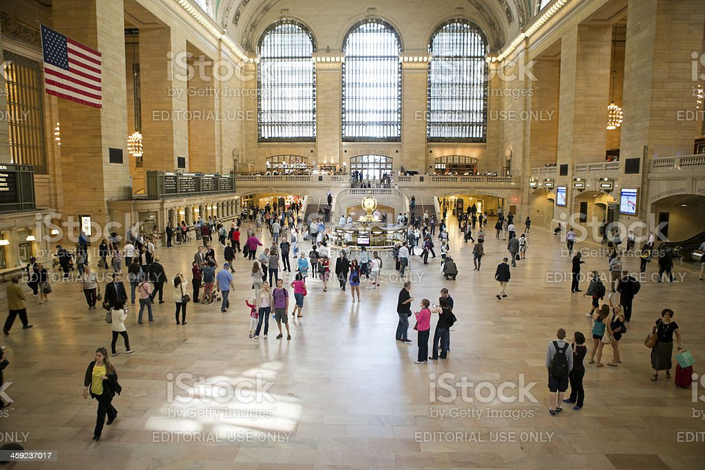 Grand Central Station Midtown New York City royalty-free stock photo