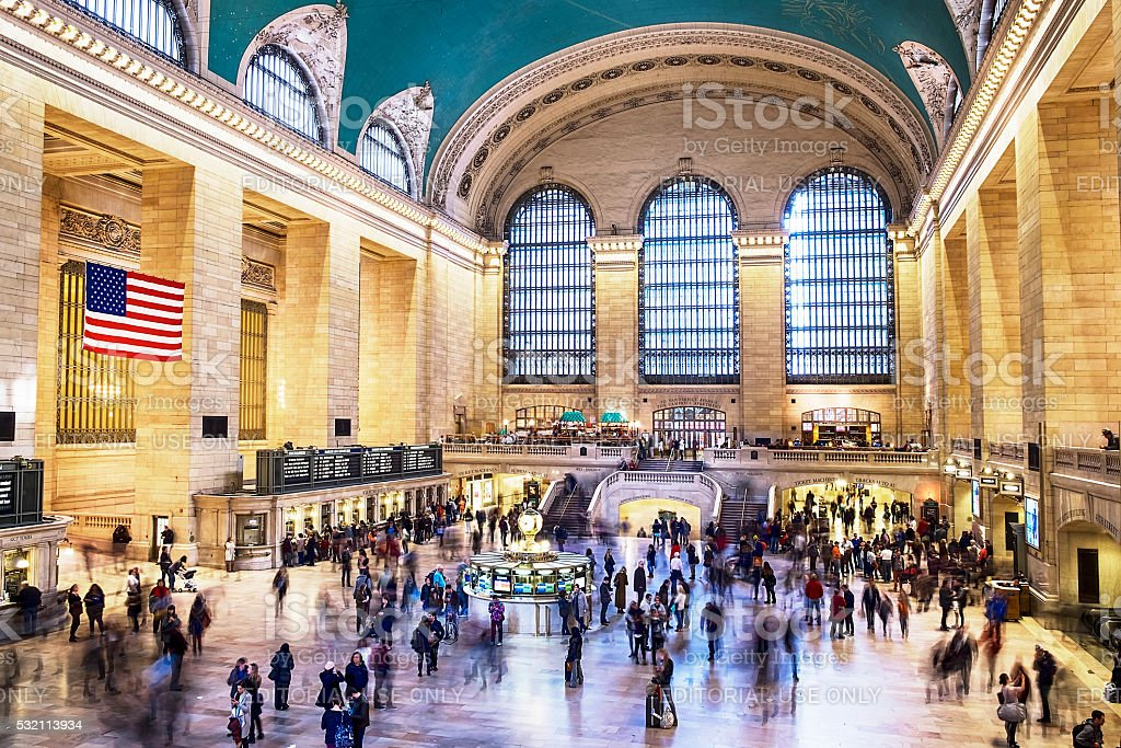 Grand Central Station Motion stock photo
