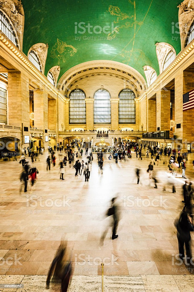 Grand Central Station, New York City, USA stock photo