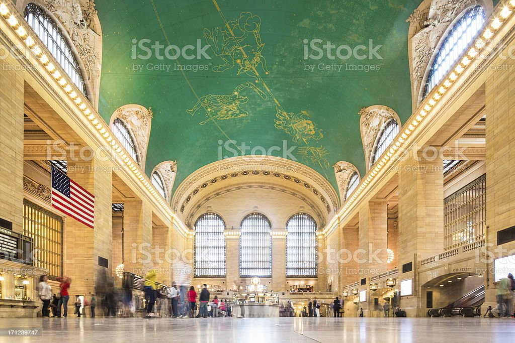 Grand Central Station, New York stock photo