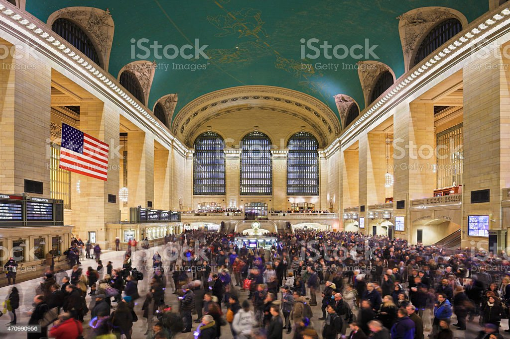 Grand Central Station - New York stock photo