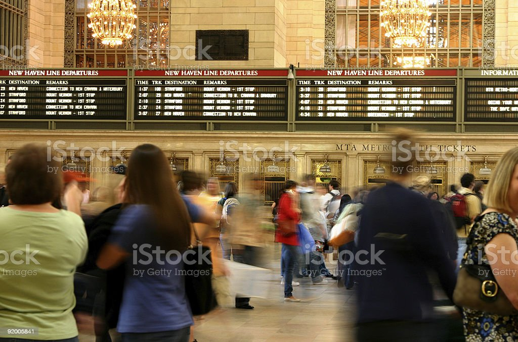 Grand Central Station, NY stock photo