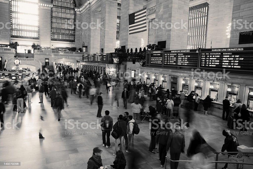 Grand Central Station NYC royalty-free stock photo