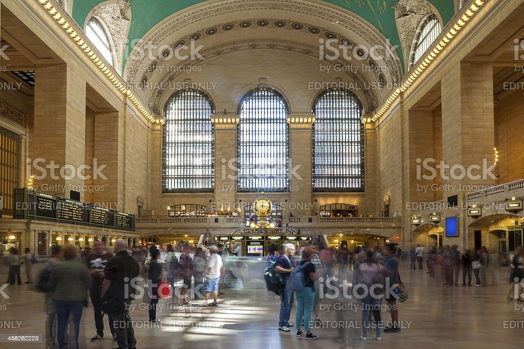 Grand Central Station, NYC royalty-free stock photo