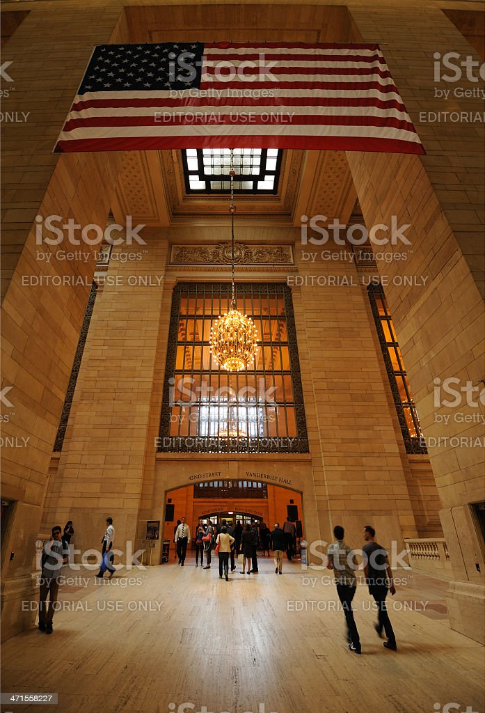 Grand Central Station royalty-free stock photo