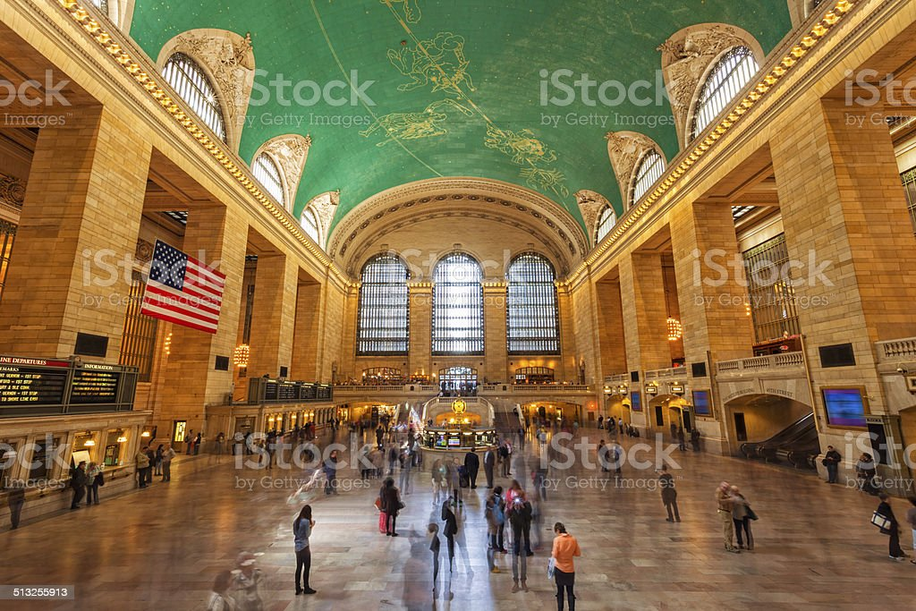 Grand Central Station stock photo