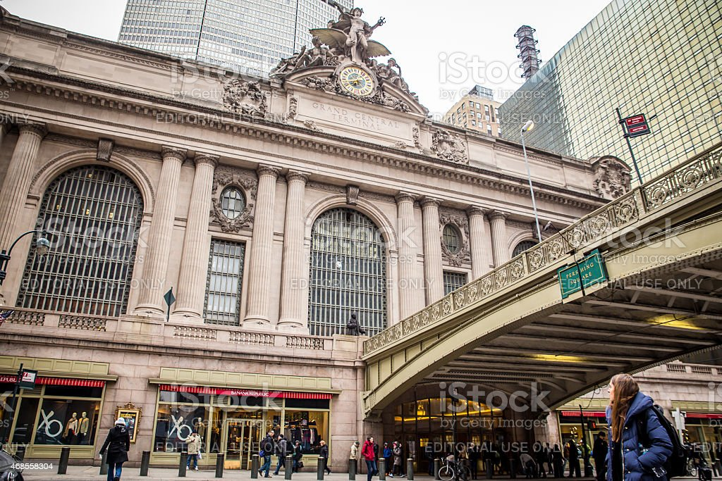 Grand Central Terminal 42nd Street stock photo