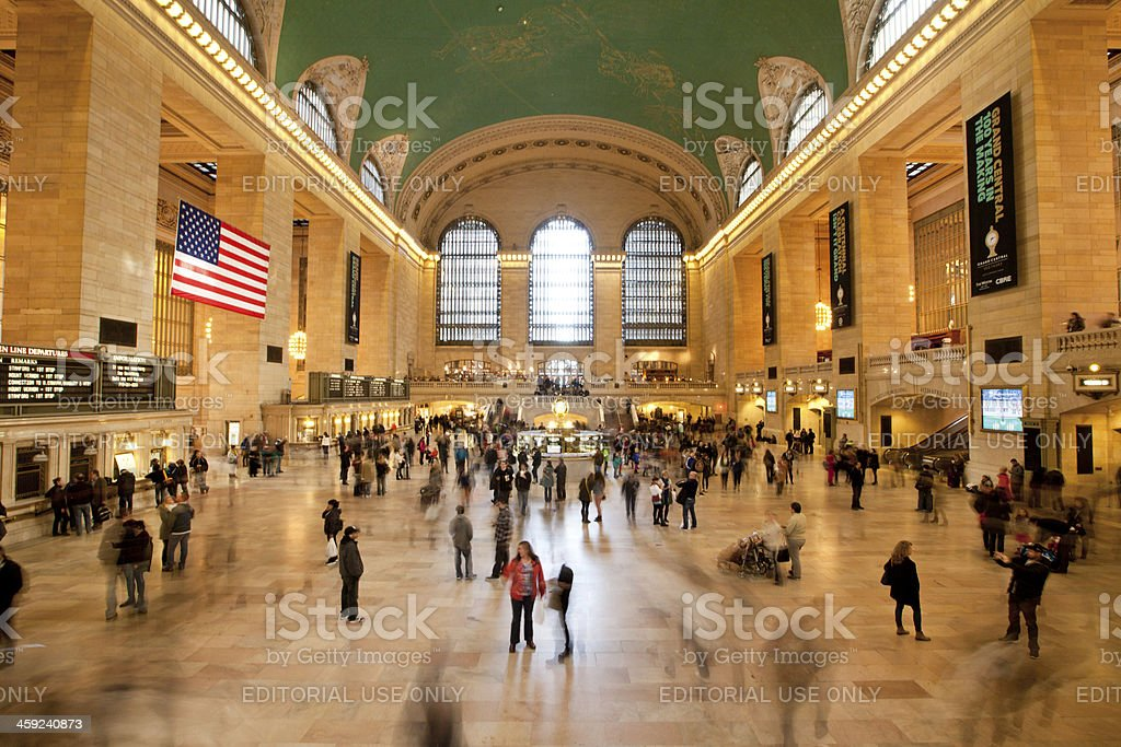 Grand Central Terminal in New York City stock photo
