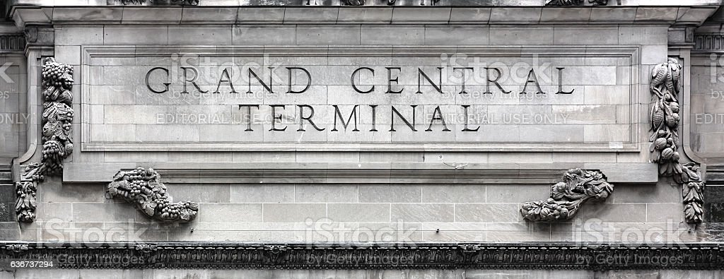 Grand Central Terminal in NYC stock photo