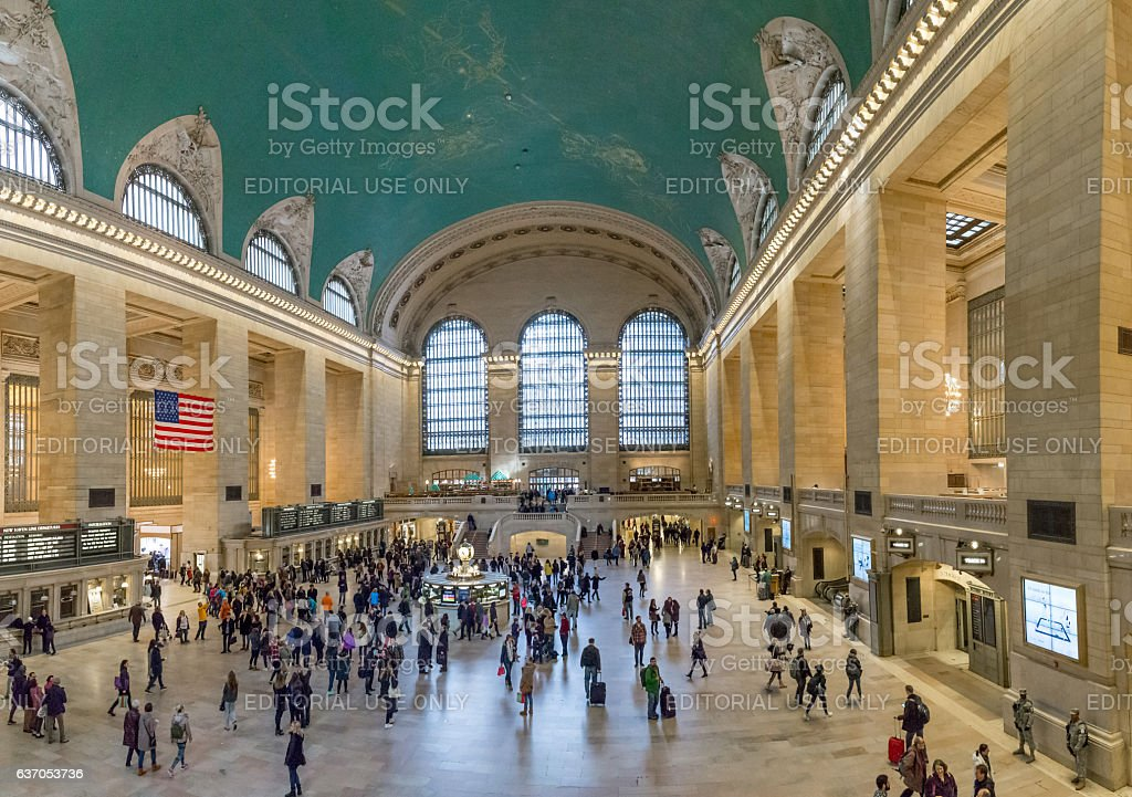 Grand Central Terminal Main Hall stock photo