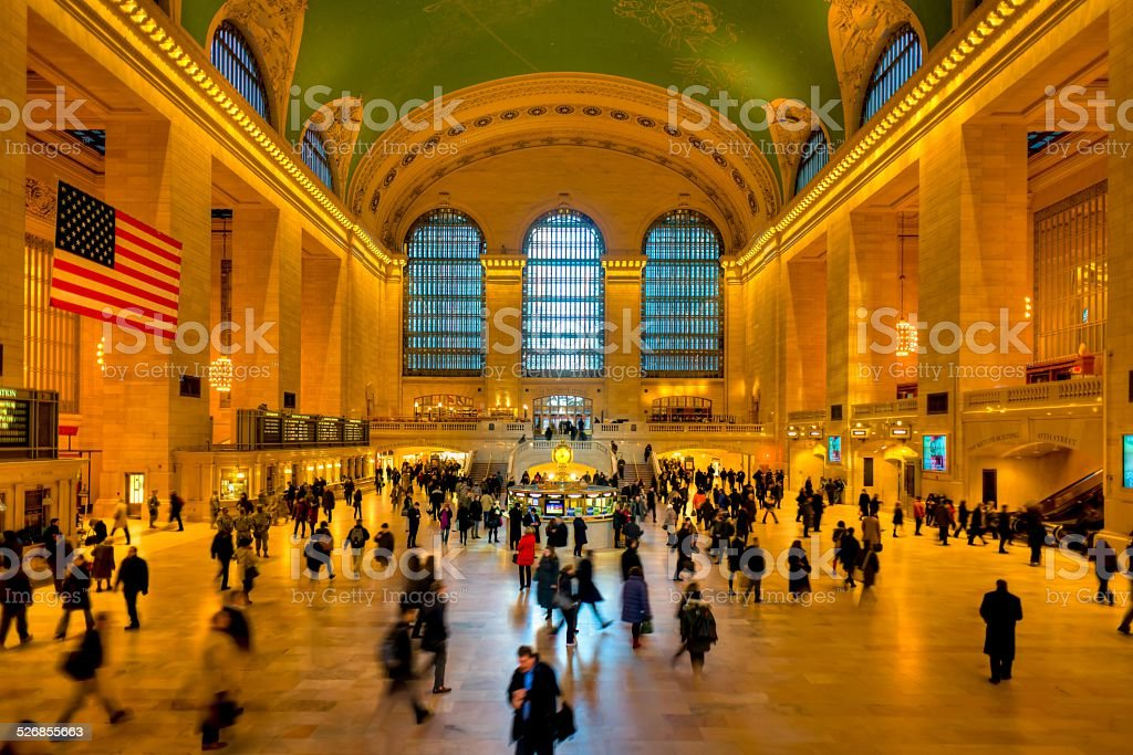 Grand Central terminal, New York stock photo