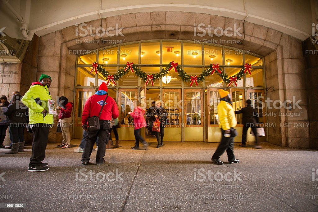 Grand Central Terminal NYC stock photo