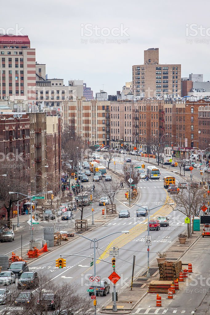 Grand Councourse Junction stock photo