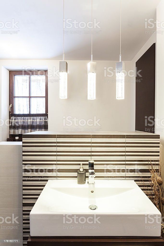 Grand design - wash basin royalty-free stock photo