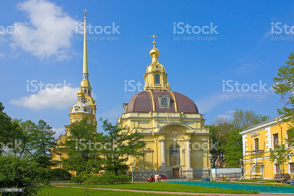 Grand Ducal Burial Vault stock photo