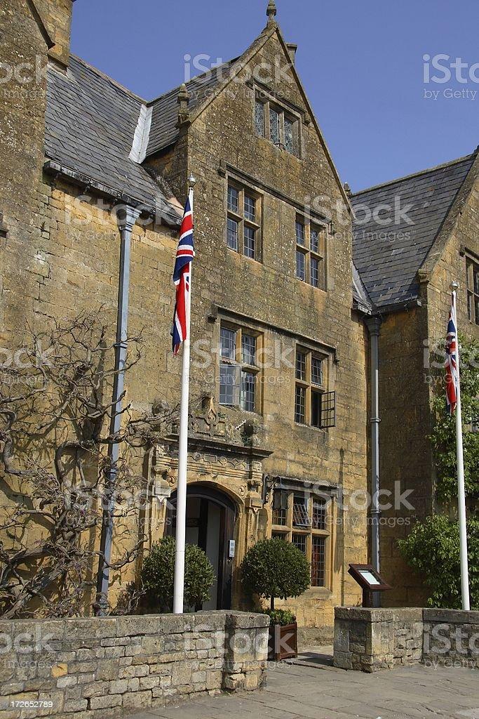 Grand english building stock photo