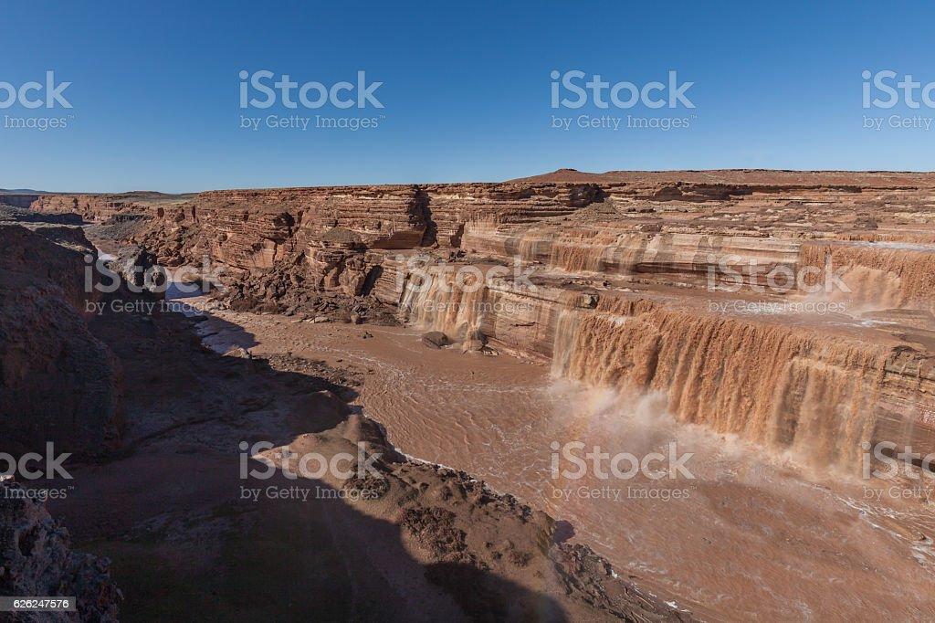 Grand Falls Landscape stock photo