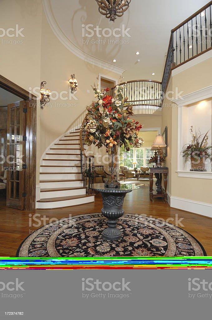 Grand Foyer royalty-free stock photo