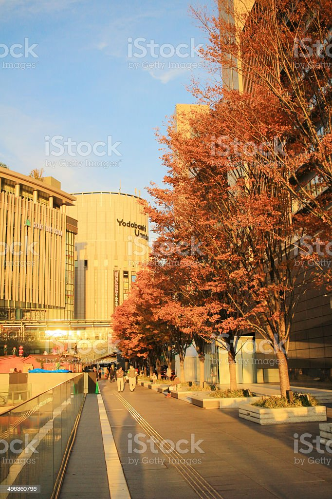 Grand Front Osaka is a complex located in Umeda, Osaka. stock photo