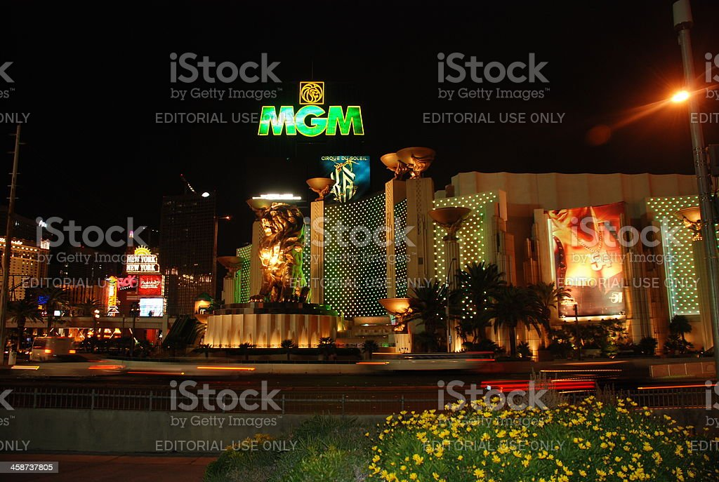 MGM Grand Hotel, Las Vegas stock photo