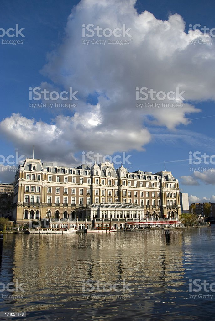 Grand Hotel royalty-free stock photo