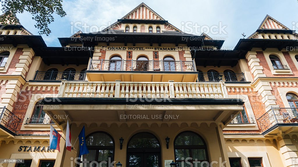 Grand Hotel Stamary Offers 53 Rooms stock photo