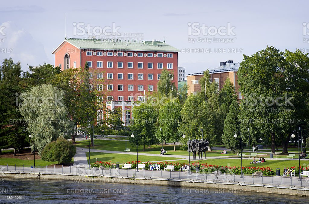 Grand Hotel Tammer Tampere Finland stock photo