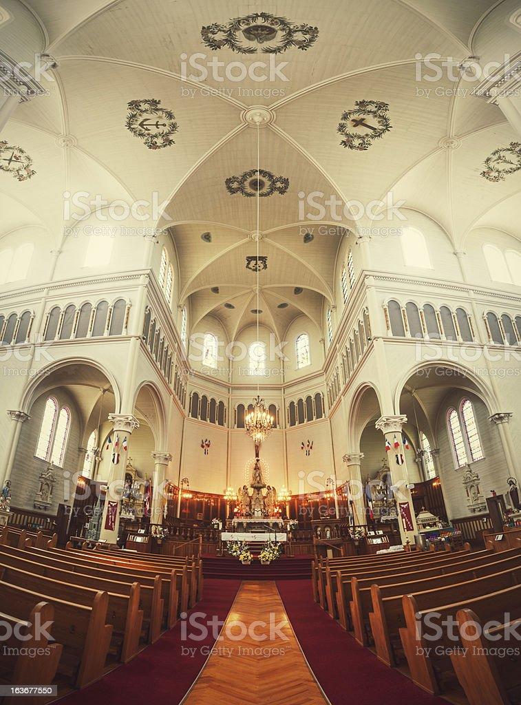 Grand Interior royalty-free stock photo